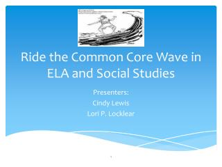 Ride the Common Core Wave in ELA and Social Studies
