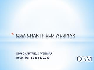 OBM CHARTFIELD WEBINAR