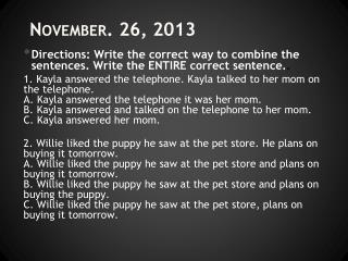 November.  26,  2013