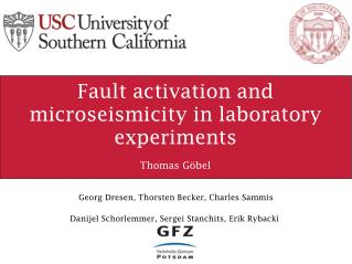 Fault activation and  microseismicity  in laboratory experiments