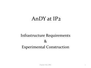 AnDY  at IP2