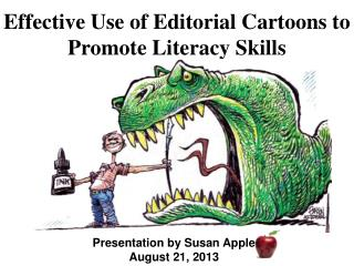 Effective Use of Editorial Cartoons to Promote Literacy  S kills