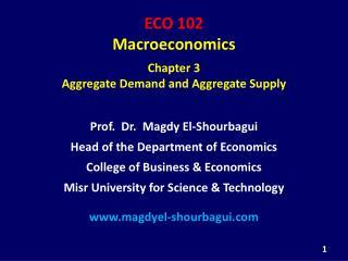 ECO 102 Macroeconomics