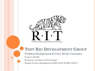 Test Rig Development Group