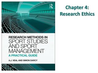 Chapter 4:  Research Ethics
