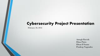 Cybersecurity Project Presentation