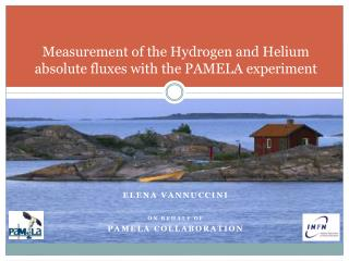 Measurement of the Hydrogen and Helium absolute fluxes with the PAMELA experiment