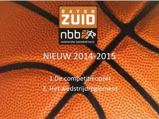 NIEUW 2014-2015