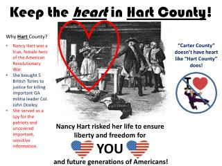 Keep the  heart  in  Hart County !