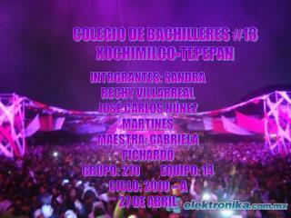 COLEGIO DE BACHILLERES #13  XOCHIMILCO-TEPEPAN