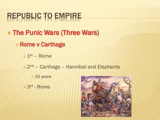 Republic To Empire