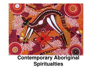 Contemporary Aboriginal Spiritualties