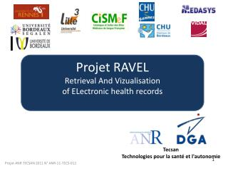 Projet RAVEL Retrieval And Vizualisation of ELectronic health records