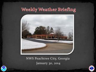 NWS Peachtree City, Georgia  January 30, 2014