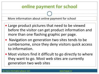 One of The best online payment for school