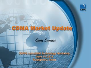 CDMA Market Update