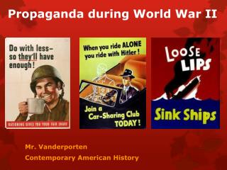 Propaganda during World War II