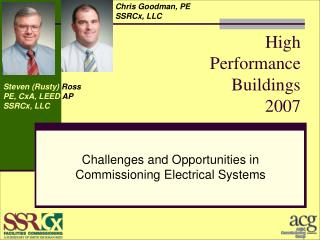 High                       Performance               Buildings                            2007