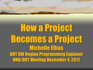 DOT Planning & Programming