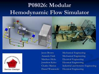 P08026: Modular Hemodynamic Flow Simulator