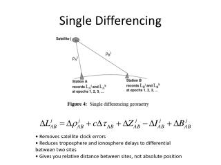 Single Differencing