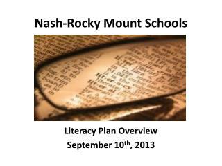 Nash-Rocky Mount Schools