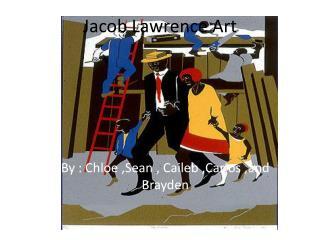 Jacob Lawrence Art