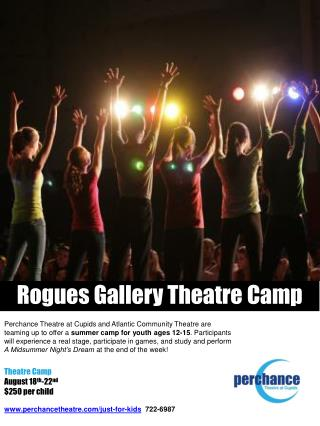 Rogue s  Gallery Theatre Camp