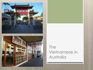 The Vietnamese in Australia