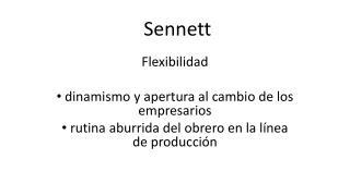 Sennett