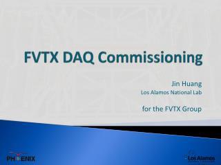 FVTX DAQ Commissioning