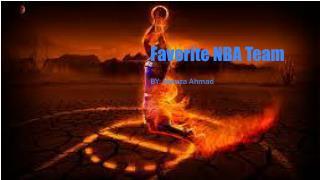 Favorite NBA Team