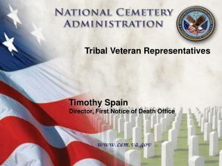 Tribal Veteran Representatives