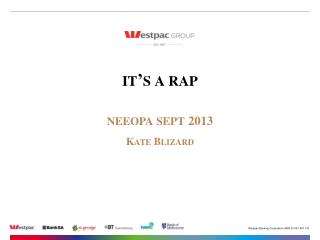 it's a rap neeopa sept 2013 Kate  Blizard