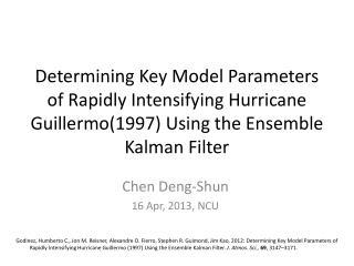 Chen Deng-Shun 16 Apr, 2013, NCU