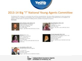 "2013-14 Big ""I"" National Young Agents Committee"