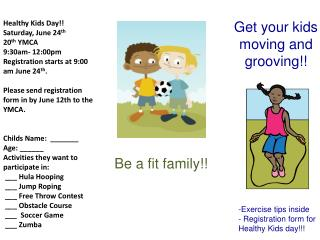 Get your kids moving and grooving!!