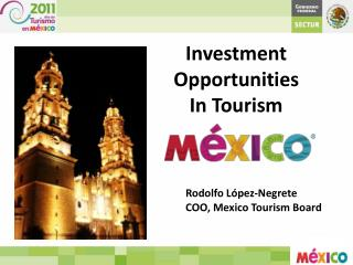 Investment Opportunities  In Tourism