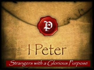 Our  Holiness I Peter:  1:13-21 February 3 ,  2013