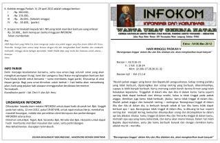 Edisi :  IV / 06 . Mei .2012