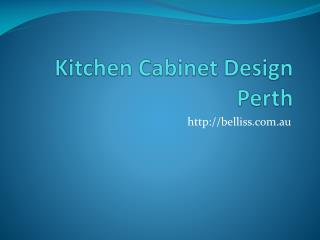 Custom Kitchen Design Perth