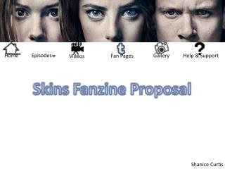 Skins Fanzine Proposal