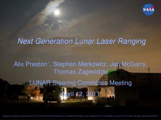 Next Generation Lunar Laser Ranging