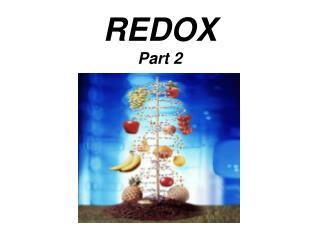 REDOX Part 2