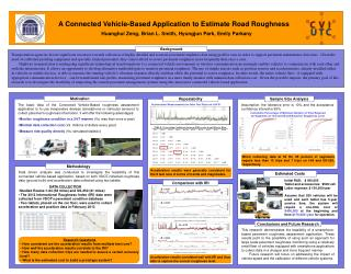 A Connected Vehicle-Based Application to Estimate Road Roughness