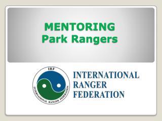 MENTORING   Park Rangers