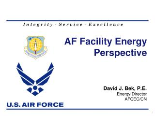 AF Facility Energy Perspective