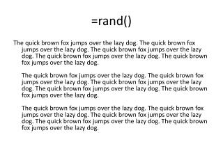 =rand()