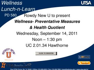 Wellness  Lunch-n-Learn