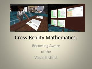 Cross-Reality Mathematics: